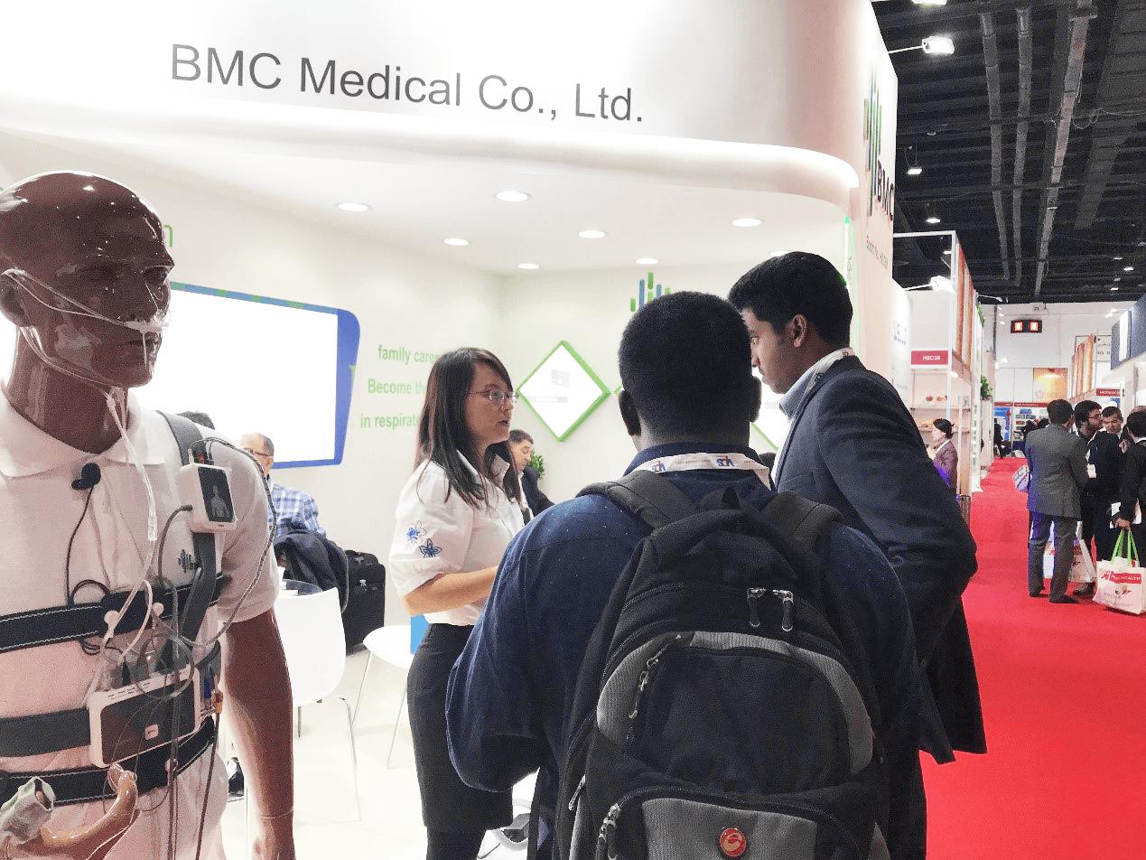 BMC brillaba de nuevo en Arab (Dubai) Health